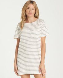 0 On My Way Dress Beige JD57NBON Billabong