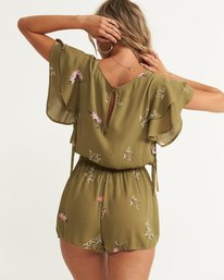 2 Heavenly Fields Romper Green JN01QBHE Billabong