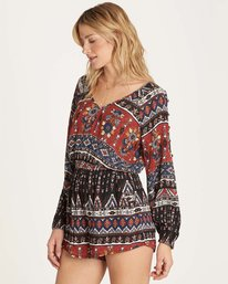 1 Isles Of The Heart Romper  JN02MISL Billabong