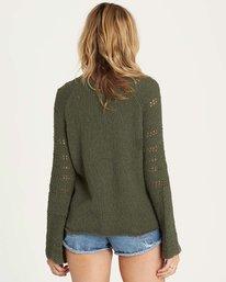 2 Cozy Love Sweater Green JV02MCOZ Billabong
