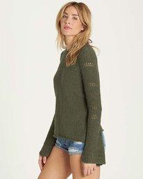 1 Cozy Love Sweater Green JV02MCOZ Billabong