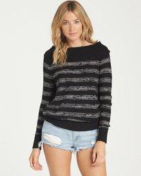 0 Snuggle Down Sweater Black JV02NBSN Billabong