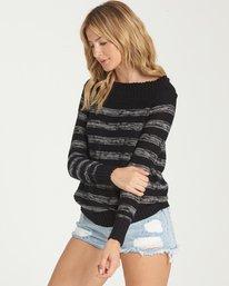 1 Snuggle Down Sweater Black JV02NBSN Billabong