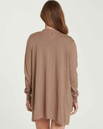 2 Worth It Cardigan Sweater Beige JV03PBWO Billabong