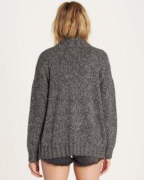 2 Luna Day Cardi Sweater Grey JV05LLUN Billabong