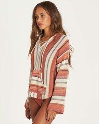 1 Baja Beach 2 Sweater Beige JV06NBBA Billabong