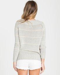 2 Snuggle Down Sweater Grey JV07LSNU Billabong