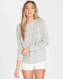 0 Snuggle Down Sweater Grey JV07LSNU Billabong