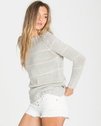 1 Snuggle Down Sweater Grey JV07LSNU Billabong