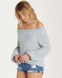 1 Furget Me Not Sweater Blue JV07MFUR Billabong