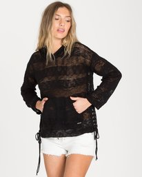 0 To The Limit Sweater Black JV09NBTO Billabong