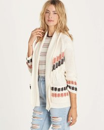 1 In Stitches Sweater White JV14LINS Billabong