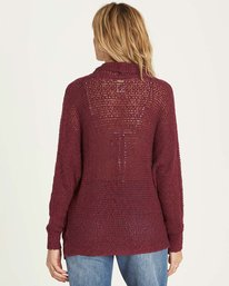 2 Shake Down Sweater Red JV22LSHA Billabong