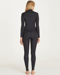 2 3/2 Synergy Chest Zip Fullsuit Black JWFULSC3 Billabong