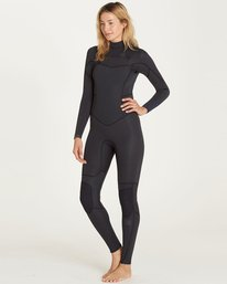 1 3/2 Synergy Chest Zip Fullsuit Black JWFULSC3 Billabong