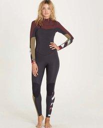 0 3/2 Surf Capsule Salty Dayz Chest Zip Fullsuit Purple JWFULSD3 Billabong