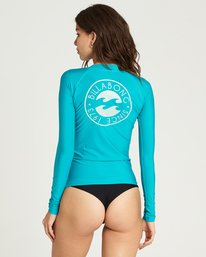 2 Core Performance Long Sleeve Rashguard Blue JWLYJCCL Billabong