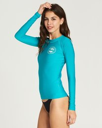 1 Core Performance Long Sleeve Rashguard Blue JWLYJCCL Billabong