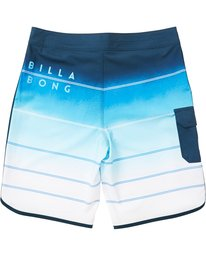 1 Boys' (2-7) 73 X Stripe Boardshorts Blue K129NBSS Billabong