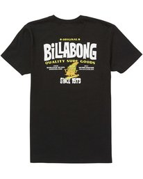 1 Boys (2-7) Grommit Tee Black K401QBGR Billabong