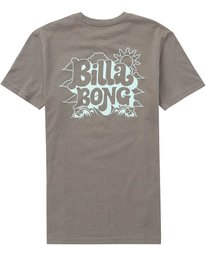 1 Boys' (2-7) Groovy Tee Grey K401QBGV Billabong