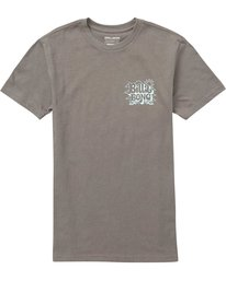 0 Boys' (2-7) Groovy Tee Grey K401QBGV Billabong