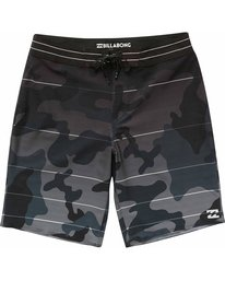 2 Fluid Airlite Boardshorts Grey M111NBFL Billabong