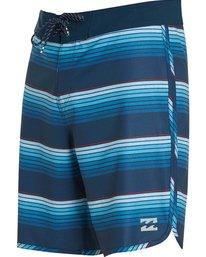 2 73 X Line Up Boardshorts Blue M115MLIN Billabong