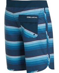 3 73 X Line Up Boardshorts Blue M115MLIN Billabong