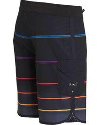 1 73 X Stripe Boardshorts Black M129NBSS Billabong