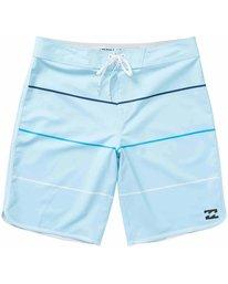 0 73 X Stripe Boardshorts Blue M138LSTX Billabong