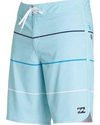 1 73 X Stripe Boardshorts Blue M138LSTX Billabong