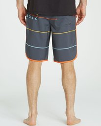 4 73 X Stripe Boardshorts Grey M138LSTX Billabong