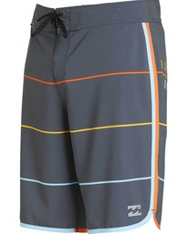 2 73 X Stripe Boardshorts Grey M138LSTX Billabong
