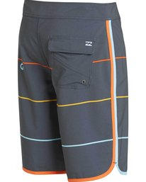 3 73 X Stripe Boardshorts Grey M138LSTX Billabong
