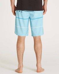 6 73 X Stripe Boardshorts Blue M138LSTX Billabong