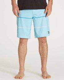 3 73 X Stripe Boardshorts Blue M138LSTX Billabong