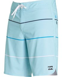 4 73 X Stripe Boardshorts Blue M138LSTX Billabong