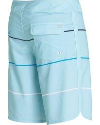 5 73 X Stripe Boardshorts Blue M138LSTX Billabong