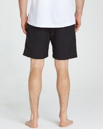 4 All Day Lo Tides Boardshorts Black M140NBAL Billabong