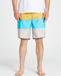 3 73 OG Stripe Boardshorts Blue M168NBSS Billabong