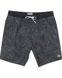 1 Sundays Layback Boardshorts Black M182NBSU Billabong