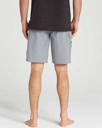 4 All Day X Hawaii Boardshorts Grey M193NBAL Billabong