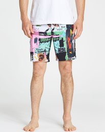 3 Men's Factory X Boardshorts  M195PBFA Billabong