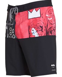 1 Men's New Flame X Boardshorts Pink M196PBNF Billabong