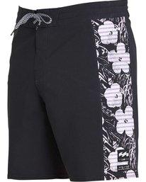 1 Men's Epi Floral X Boardshorts Black M197PBEF Billabong
