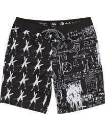 0 Knives Lo Tides Boardshorts Black M198PBKN Billabong