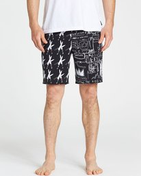 3 Knives Lo Tides Boardshorts Black M198PBKN Billabong