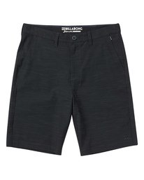 2 Crossfire X Slub Submersibles Shorts Black M203NBCS Billabong