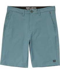0 Crossfire X Twill Submersibles Shorts Blue M204NBCT Billabong